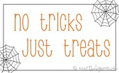 No Tricks Just Treats by Kennedy