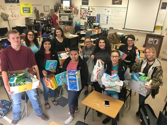 Outreach Club Helps Center Of Hope