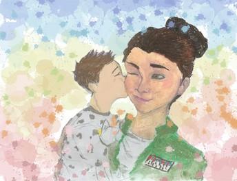 Akers Illustrates Goodnight Captain Mama