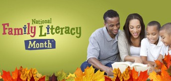 November is National Family LIteracy Month