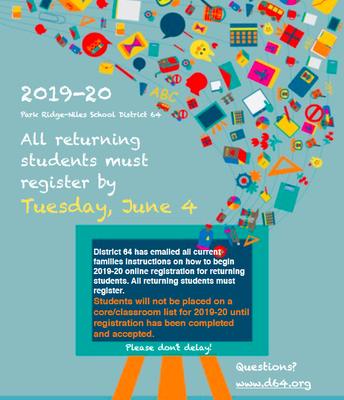 Registration for 2019-20!