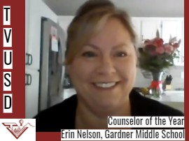 Counselor of the Year - Erin Nelson, Gardner Middle School