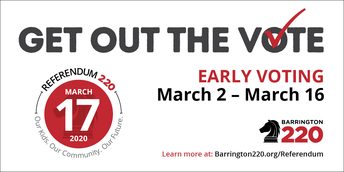 Early voting begins March 2