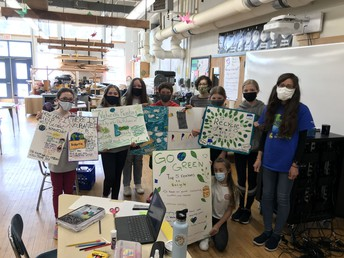 Students create environmental campaign