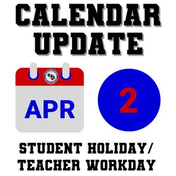 OCS Calendar Update