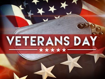 Do you know a Veteran? Sign up for our Veterans Day Tribute today!
