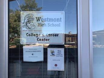 College and Career Center Window