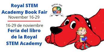 Royal STEM Academy Virtual Book Fair