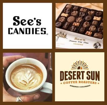 See's Candy / Desert Sun Coffee Fundraiser