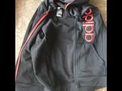 Adidas jacket large 14/16