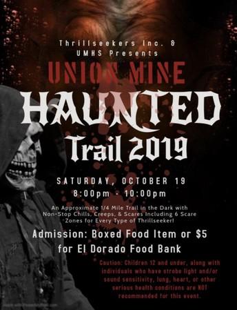 Union Mine ASB presents Haunted Trail 2019