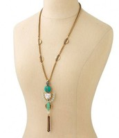 Totem Tassel Pendant Necklace