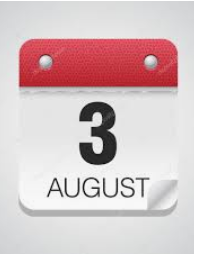 Start Back Date for Teachers: August 3, 2020