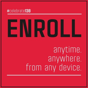 Enroll anytime, anywhere, from any device