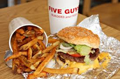 Spirit Night at Five Guys - Tuesday