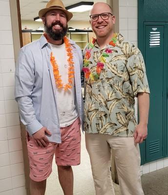 Even Teachers get into the Spirit!