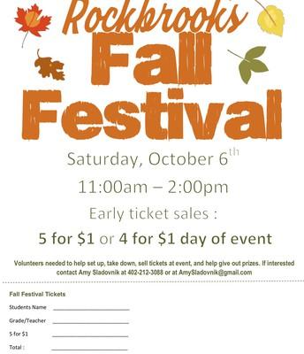 Rockbrook Fall Festival