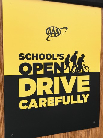 Drive Safely Around School Zones