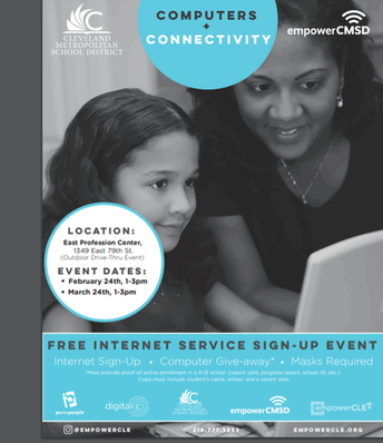 Free Computers for CMSD Parents - Drive Thru Event
