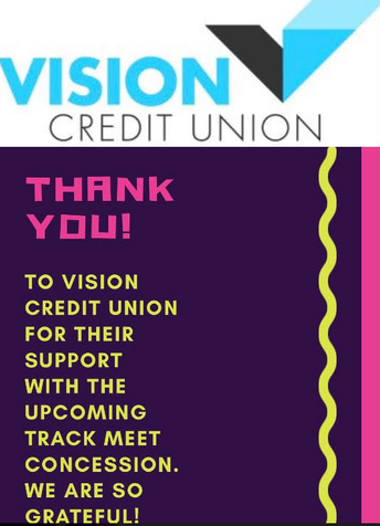 THANK YOU - VISION CREDIT UNION!