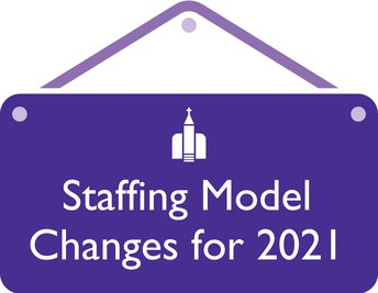 Staffing Model Changes for 2021