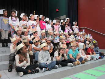 1st Grade Thanksgiving Program
