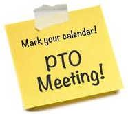 PTO MEETING - November 5th @ 10:00 am