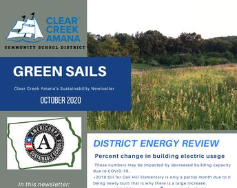 Green Sails Newsletter