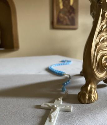 Pray the Rosary tonight at 6:30 p.m.