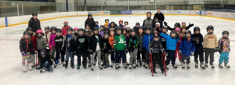 Grade 2 goes skating!
