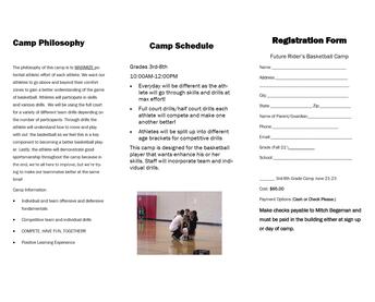 RHS Basketball Camp