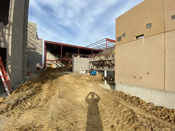 Looking into new cafeteria area