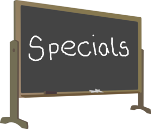 Music and PE Specials