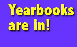 Yearbooks are in...