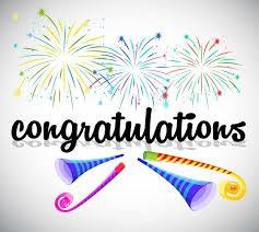 Huge Congratulations....