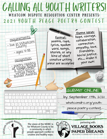 Youth Peace Poetry Contest open for submissions