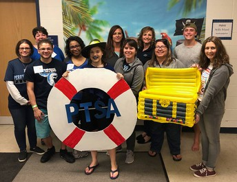 PTSA Fun at Float Your Boat