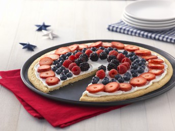 Patriotic Fruit Pizza