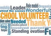 We Love our School Volunteers!
