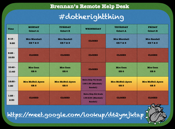 NEW!  BMS Student Remote Help Desk!