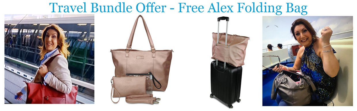 61647d566b1 With Easter around the corner, we turning our thoughts to traveling and we  think we have the perfect bags to help you on your way.