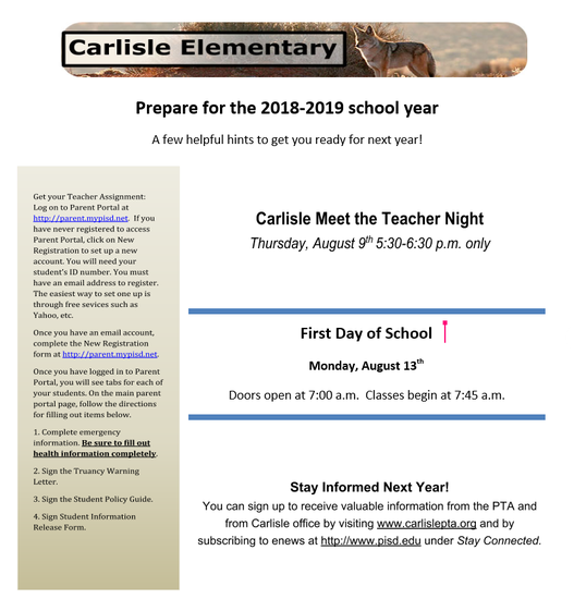 Special News Bulletin | Smore Newsletters