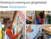Gingerbread Houses in Preschool