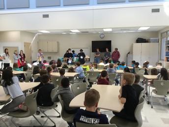 Gators of the Week:  German Students Take Learning to Deerfield Elementary