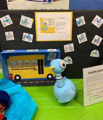 Literary Pumpkin Contest- Don't let the Pigeon Drive the Bus!