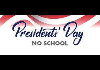 No School on Monday, February 15th
