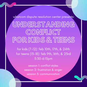 Understanding Conflict Workshops for Kids and Teens