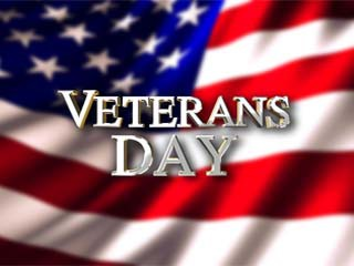 Veteran's Day, Nov. 11