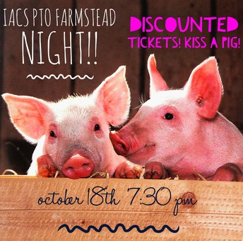 Annual Kiss the Pig Event Oct 18th