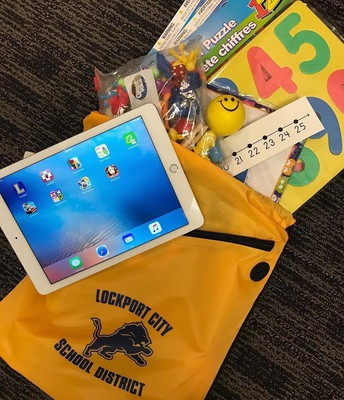 iPad and Backpack Project
